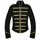 Black Gold My Chemical Romance Parade Military Jacket Halloween Cosplay Costume