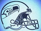 SEATTLE SEAHAWKS HELMET STENCIL MYLAR SPORT FOOTBALL MANCAVE STENCILS $7.18 USD on eBay