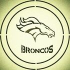 DOUBLE CIRLCE DENVER BRONCOS with TEAM NAME STENCIL SPORT FOOTBALL STENCILS $9.18 USD on eBay