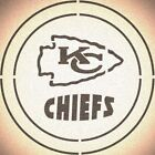 DOUBLE CIRLCE KANSAS CITY CHIEFS with TEAM NAME STENCIL SPORT FOOTBALL STENCILS $11.83 USD on eBay