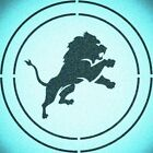 DOUBLE CIRLCE DETROIT LIONS STENCIL SPORT FOOTBALL STENCILS $9.18 USD on eBay