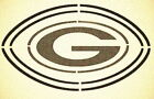 GREEN BAY PACKERS DOUBLE FOOTBALL STENCIL SPORT FOOTBALL STENCILS $25.2 USD on eBay
