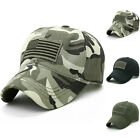 Unisex Mens Tactical Military Camouflage Army Baseball Cap Golf Sports Hats