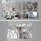 3d Wall Sticker Decor Living Home Acrylic Large Mirror Still Fashion Wall