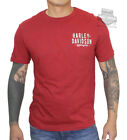 Harley-Davidson Mens Most Popular Dark Red Short Sleeve T-Shirt $14.99 USD on eBay