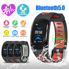 Smart Watch Fitness Tracker Fit**bit Bluetooth Step Caolorie Sport Android iOS