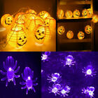 For Halloween Led Lights Pumpkin / Spider Lights Powerd Scary Home Decoration Uk