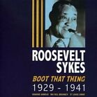 ROOSEVELT SYKES - Boot That Thing 1929-41 - 2 CD - Import - **NEW/STILL SEALED**