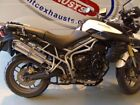 Triumph Tiger 800 & 800XC Stainless Performance Exhaust Muffler British Made
