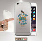 Cover for , IPHONE, Gamers, Silicone, Soft, Hobby, Clear ,Dart, Candid