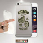 Cover for , IPHONE, Motorcycle, Silicone, Soft, Auto, Army, Clear, Mafia