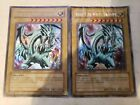 Yugioh 2x Blue Eyes White Dragon Bpt Damged-nm
