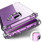 For Samsung Galaxy Note 10 S8 S9 S10 Plus Note8 Clear Slim Shockproof Case Cover