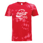 Coca Cola Original And Best White Text Men's Bleach Out T-Shirt £19.95  on eBay