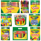 'Crayola Crayons - Ultra Clean Large, Silly Scents, Easy-grip Jumbo, Twistables.