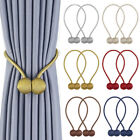 2pcs Magnetic Ball Curtain Buckle Holder Tieback Tie Backs Clips For Home Window
