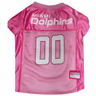 Pets First Miami Dolphins NFL Pink Mesh Jersey $23.99 USD on eBay