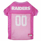 Pets First Oakland Raiders NFL Pink Mesh Jersey $23.99 USD on eBay