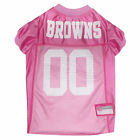 Pets First Cleveland Browns NFL Pink Mesh Jersey $23.99 USD on eBay