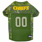 Pets First Kansas City Chiefs Camo Jersey $23.99 USD on eBay