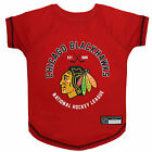 Pets First Chicago Blackhawks Dog T-Shirt $19.99 USD on eBay