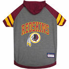 Pets First Washington Redskins Hoodie Tee Shirt For Dogs $12.82 USD on eBay