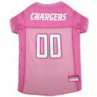 Pets First Los Angeles Chargers Pink Jersey $23.99 USD on eBay