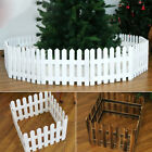 8m/26ft Christmas Xmas Picket Fence Garden Fencing Lawn Home Yard Tree Fence Uk