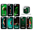 PERSONALISED SNOOKER NAME CASE iPhone 5 5s SE 6 6s 7 8 PLUS X XR XS 11 Pro Max £3.99 GBP on eBay