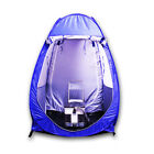 Blue PE Auto Open Waterproof Fishing Tent Outdoor Double Window Zipper Camping