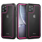 For iPhone 11 Pro Max X XR 8 7 Plus Heavy Duty Shockproof Clear Hard Case Cover