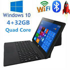 10.1 Inch Z8350 Quad Core 2+32gb Dual Camera Windows 10 2 In 1 Tablet Laptop Pc