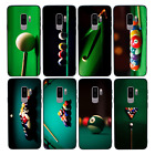 Snooker Case Glass Back Bumper Cover for Samsung Galaxy S8 S9 S10 EDGE PLUS £4.99 GBP on eBay