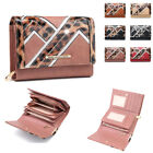 Ladies Geometric Deco Purse Cute Girls Leopard Print Coin Handbag Boxed M04M-418
