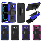 Hybrid Kickstand Belt Clip Protective Case For Samsung Note 8 S9 S8 / S8 S9 Plus