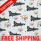 """Pittsburgh Steelers NFL Cotton Fabric - 60"""" Wide - Style# 6034 - Free Shipping!! $15.95 USD on eBay"""
