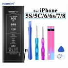 Nohon Battery For Apple iPhone 5S 5C 6 6s 7 8 High Capacity Li-polymer Battery