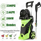 3800PSI 2.8GPM Electric Pressure Washer High Power Water Cleaner Jet Machine US