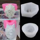 Silicone Clay Gypsum Wolf Lion Ornament Mold DIY Resin Soap Candle Mould image