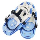 SNOWTREK Aluminum Snowshoes with Carrying Bag, Single Ratchet Harness Snow Shoes