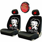 For Jeep Betty Boop Car Truck SUV Seat Headrest Steering Wheel Covers New $12.34 USD on eBay