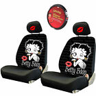 For Toyota Betty Boop Car Truck SUV Seat Headrest Steering Wheel Covers New $56.04 USD on eBay