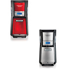 Brew Station 12 Cup Dispensing Coffee Maker Programmable Auto Shutoff Silver/Red