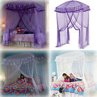 Colorful Bed Canopies Light Queen Twin Netting Mosquito Bedding Princess Bower image