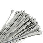 """1000Pcs 12"""" Stainless Steel Metal Cable Zip Tie Self Lock Strap Strong 100 500"""