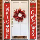 Banner Wall Hanging Door Sign Porch Curtain Home Party Decor Merry Christmas US