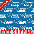 "Detroit Lions NFL Cotton Fabric - 60"" Wide - Style# 14727 - Free Shipping!! $15.95 USD on eBay"