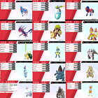 Pokemon Sword & Shield All 400 Shiny Pokemon 6IV Battle Ready!!