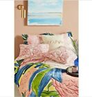 ABTHROPOLOGIE Paint and Petals KING Quilt