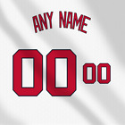 Washington Nationals White MLB jersey Any Name Any Number Pro Lettering Kit